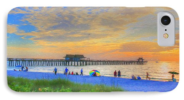 Naples Beach IPhone Case