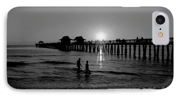 Naples Florida Pier Sunset IPhone Case
