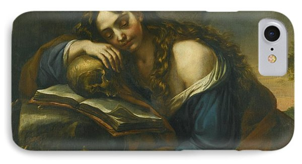 Naples Mary Magdalene Sleeping IPhone Case by MotionAge Designs