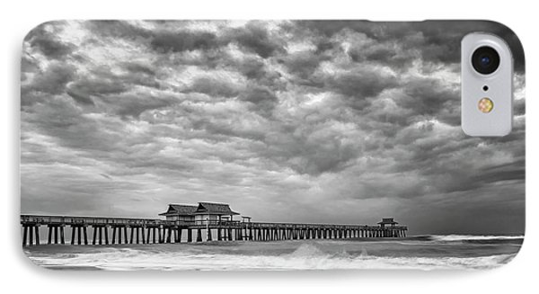 IPhone Case featuring the photograph Naples Monochrome by Mike Lang