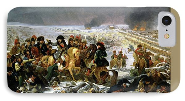 IPhone Case featuring the painting Napoleon At Eylau  by Antoine Jean Gros