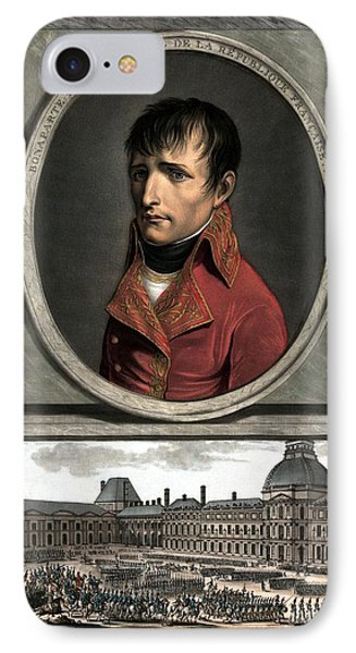 Napoleon Bonaparte And Troop Review Phone Case by War Is Hell Store