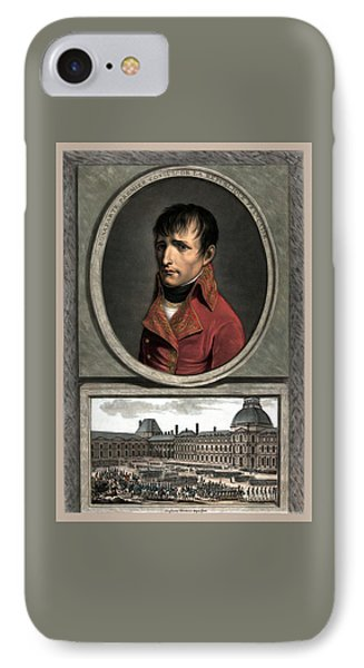 Napoleon Bonaparte And Troop Review IPhone Case by War Is Hell Store