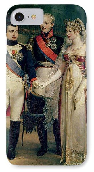 Napoleon Bonaparte Receiving Queen Louisa Of Prussia Phone Case by Nicolas Louis Francois Gosse