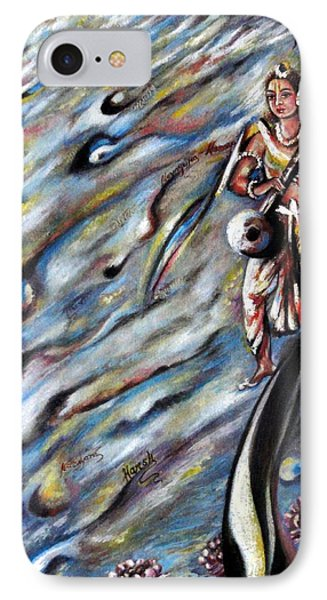 Narada Muni IPhone Case by Harsh Malik