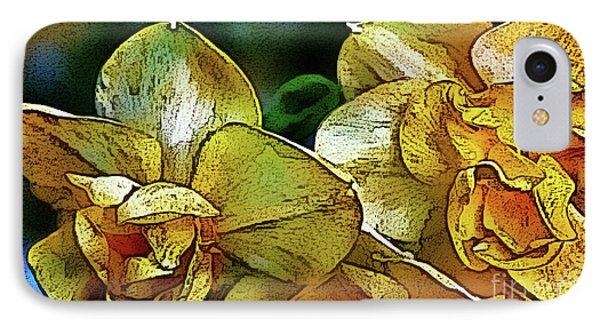 IPhone Case featuring the photograph Narcissus by Jolanta Anna Karolska