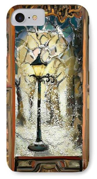 Mystery Walk IPhone Case by Carrie Joy Byrnes