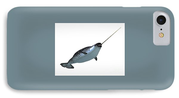 Narwhal Male Whale IPhone Case