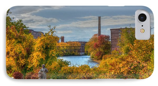 Nashua Manufacturing Company Historic District IPhone Case by Joann Vitali