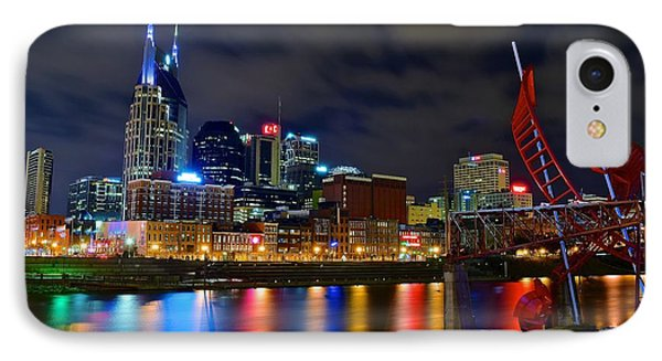 Nashville After Dark IPhone Case by Frozen in Time Fine Art Photography