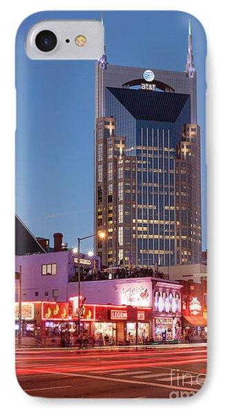 IPhone Case featuring the photograph Nashville - Batman Building by Brian Jannsen