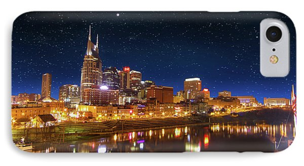 Nashville Nights IPhone Case by Robert Hebert