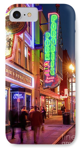 IPhone Case featuring the photograph Nashville Signs II by Brian Jannsen