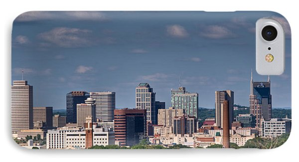 Nashville Skyline 1 Phone Case by Douglas Barnett
