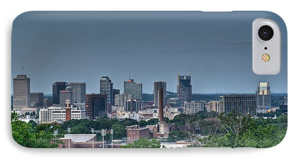 Nashville Skyline 2 Phone Case by Douglas Barnett