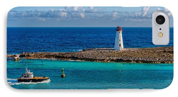 Nassau Harbor Lighthouse Phone Case by Christopher Holmes