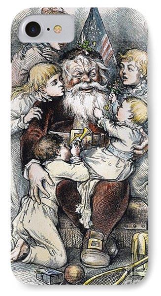 Nast: Christmas, 1879 Phone Case by Granger