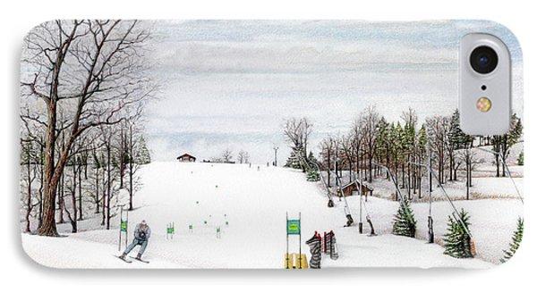 Nastar At Seven Springs Mountain Resort IPhone Case by Albert Puskaric