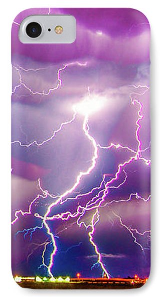 Nasty But Awesome Late Night Lightning 008 IPhone Case