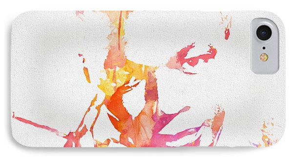 Nat King Cole Watercolor IPhone Case by Dan Sproul