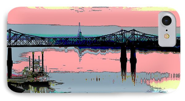 Natchez Mississippi IPhone Case by Charles Shoup