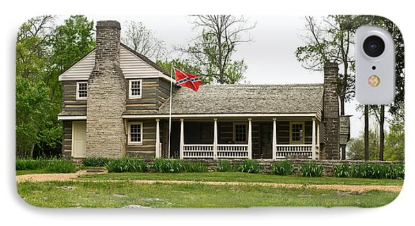 Nathan Bedford Forrest Boyhood Home 3 Phone Case by Douglas Barnett