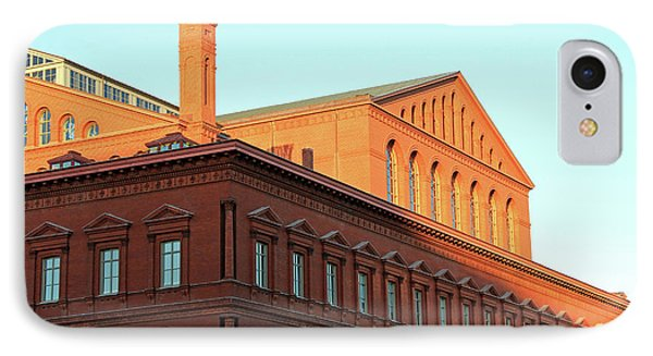 The National Building Museum In Washington IPhone Case by Cora Wandel