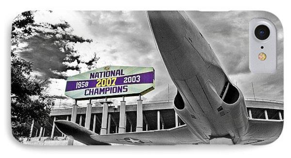 National Champions Phone Case by Scott Pellegrin