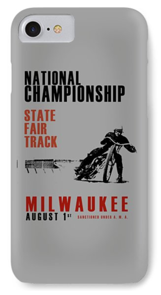 National Championship Milwaukee IPhone Case by Mark Rogan