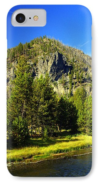 National Park Mountain Phone Case by Marty Koch