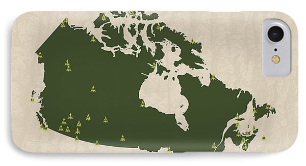 National Parks Of Canada IPhone Case by Finlay McNevin