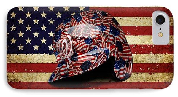 Nationals Batting Helmet IPhone Case