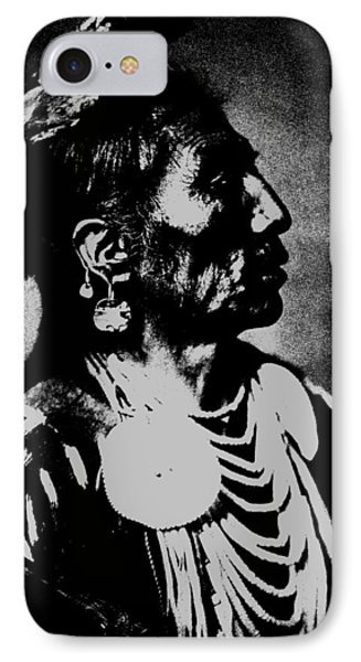 Native American 2 Curtis IPhone Case by David Bridburg