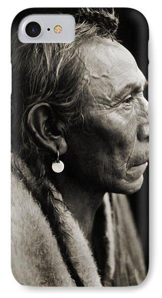 Native American Aki-tanni Two Guns Phone Case by Jennifer Rondinelli Reilly - Fine Art Photography
