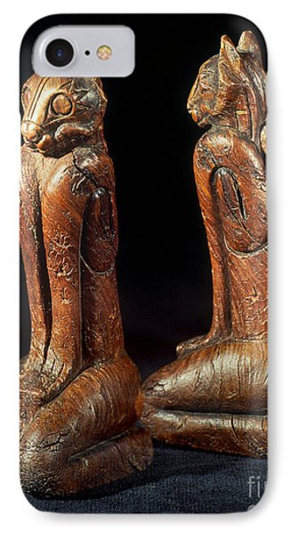 Native American Carvings Phone Case by Granger