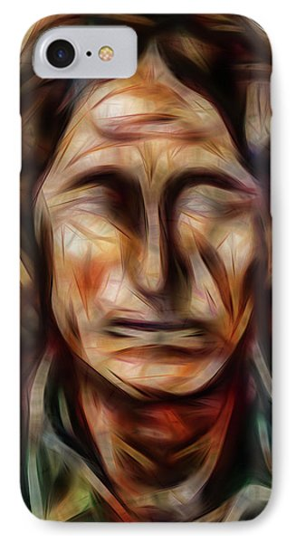 Native Nightwalker IPhone Case by Brian King