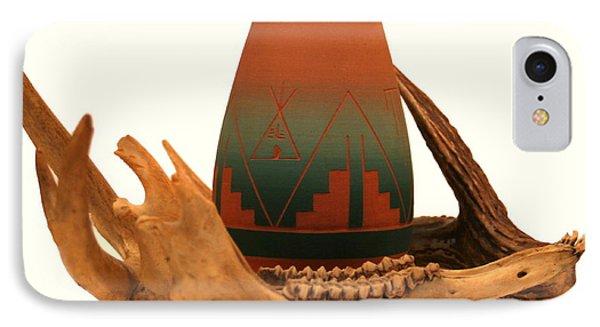 Native American Still Life Phone Case by Diane Merkle