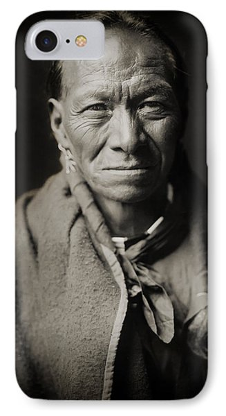 Native American Taos Indian White Clay IPhone Case