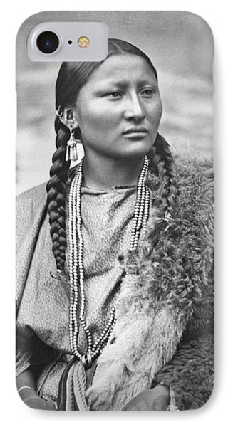 Native American Woman War Chief Pretty Nose IPhone Case