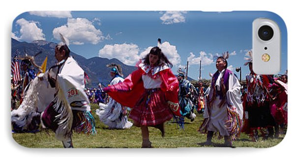 Native Americans Dancing, Taos, New IPhone Case