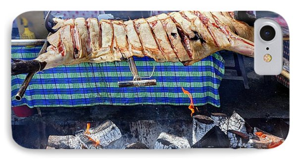 IPhone Case featuring the photograph Native Barbecue In Taiwan by Yali Shi