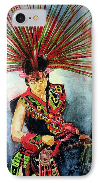 Native Dancer IPhone Case by Tom Riggs