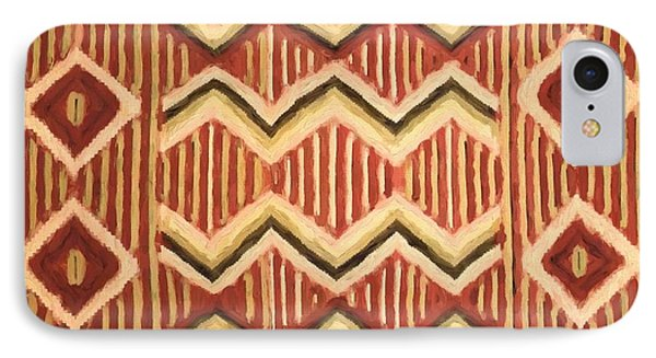 Native Pattern IPhone Case by Dan Sproul
