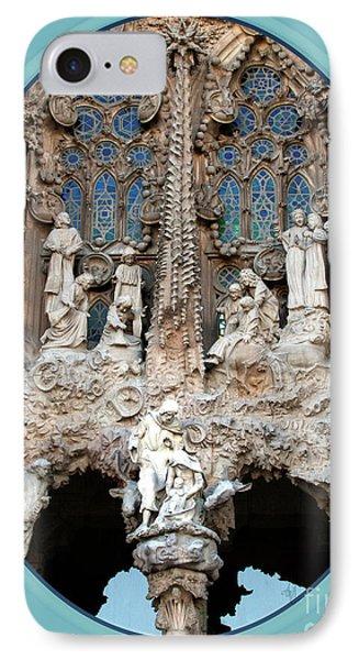 Nativity Barcelona Phone Case by Victoria Harrington