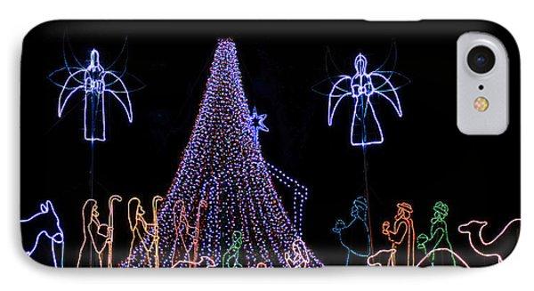 Nativity Scene IPhone Case by Kenneth Albin