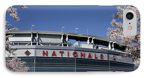 Nats Park - Washington Dc IPhone Case by Brendan Reals