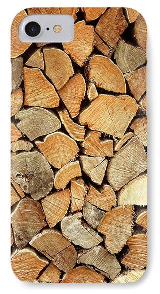 Natural Wood IPhone Case by AugenWerk Susann Serfezi