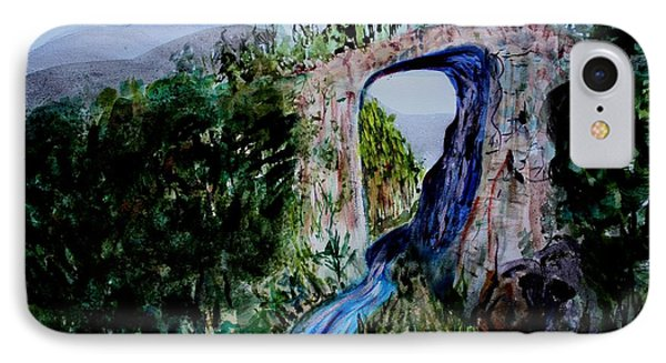 Natural Bridge In Virginia IPhone Case by Donna Walsh