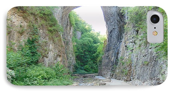 Natural Bridge Virginia IPhone Case by Charlotte Gray