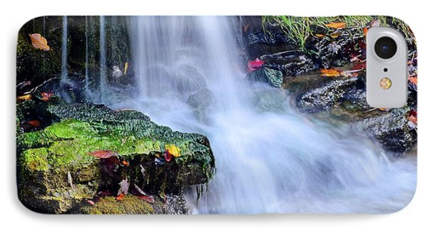 Natural Flowing Water IPhone Case by Frozen in Time Fine Art Photography